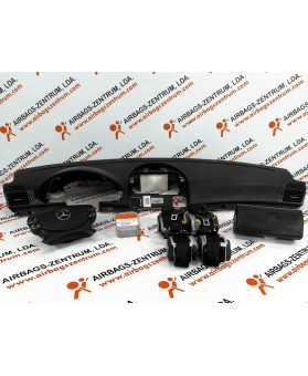 Kit de Airbags - Mercedes Classe E (W211) 2006-2009