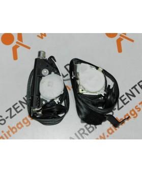 Pretensores - Cinturones - Cinturones - Volkswagen - Tiguan - 2008 - 2014