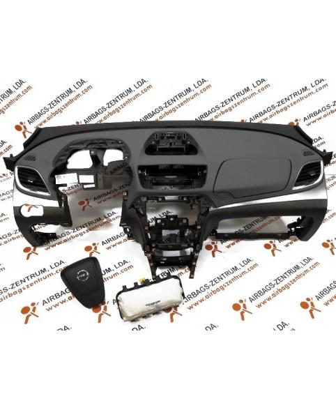 Kit de Airbags - Opel Mokka 2012 -