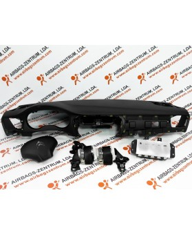 Airbags Kit - Citroen C-Elysée 2013 -