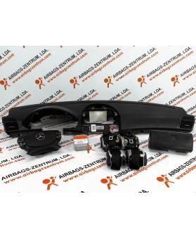 Kit de Airbags - Mercedes Classe E (W211) 2006 - 2014