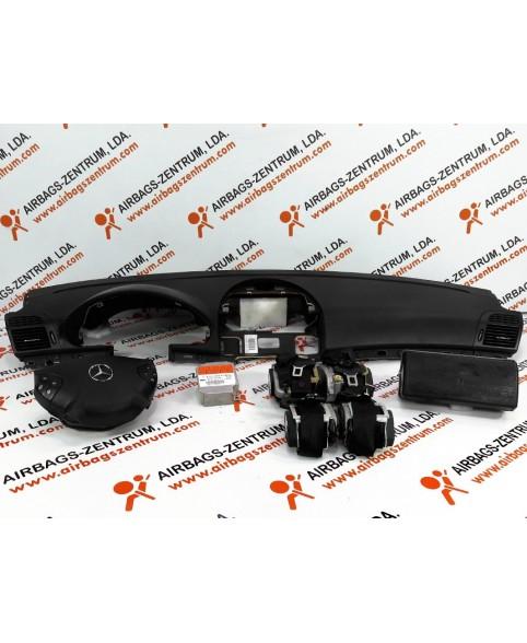 Kit de Airbags - Mercedes Classe E (W211) 2002 - 2014
