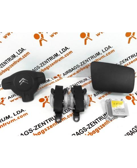 Airbags Kit - Citroen C1 2005 - 2012