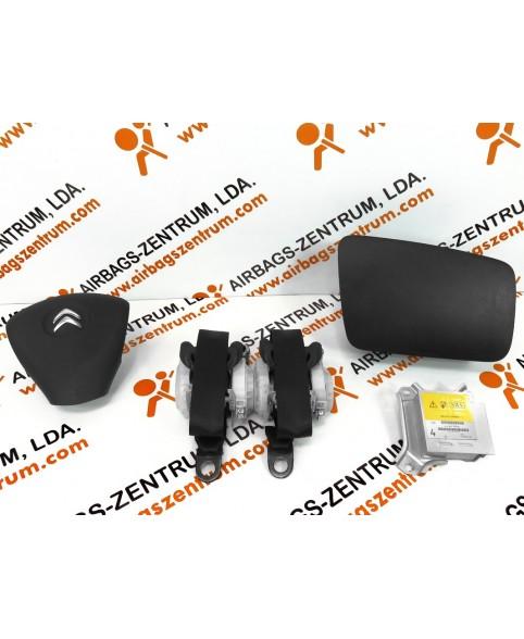 Kit de Airbags - Citroen C1 2012 - 2014