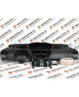 Airbags Kit - Citroen C4 Picasso 2006 - 2013