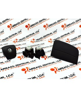 Kit Airbags - Skoda Fabia 2007 - 2010