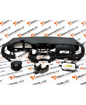 Airbags Kit - Kia Sportage 2010 - 2015