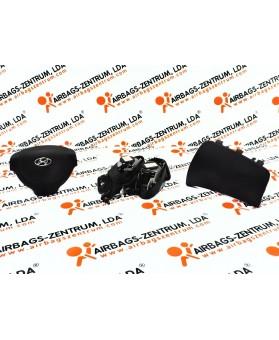 Kit Airbags - Hyundai i10 2007 - 2011