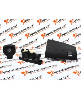 Kit Airbags - Nissan Tiida 2004 - 2012