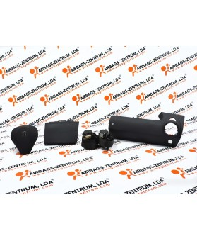 Airbags Kit - Peugeot 1007 2004 - 2009