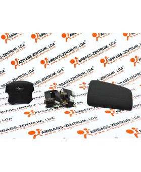 Airbags Kit - Subaru Forester 2003 - 2008