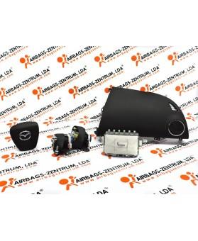 Airbags Kit - Mazda 6 2008...