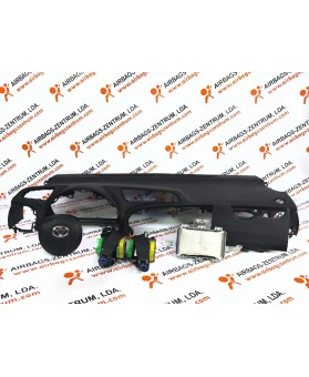 Airbags Kit - Toyota Yaris 2011 - 2014