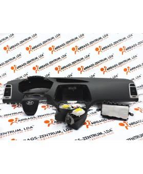 Kit Airbags - Hyundai i20 2008 - 2014