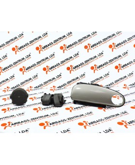 Airbags Kit - Chrysler PT Cruiser 2000 - 2010