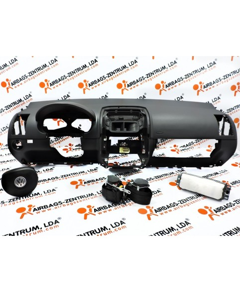 Kit Airbags - Volkswagen Polo 2002 - 2005