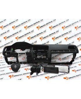 Airbags Kit - Volkswagen Golf VII 2012 -