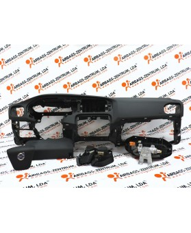Airbags Kit - Volvo V40 2013 -