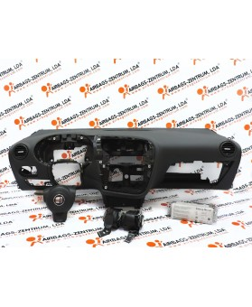 Kit Airbags - Seat Leon 2005 - 2009