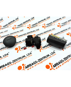 Airbags Kit - Smart Fortwo 2002 - 2007