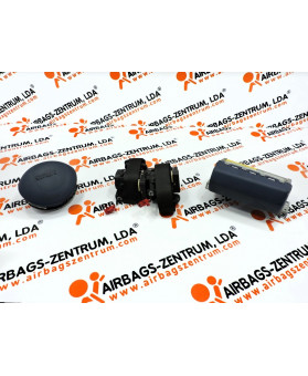 Airbags Kit - Smart ForTwo Cabrio 2004 - 2007