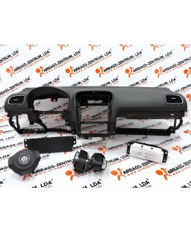 Kit de Airbags - Volkswagen Golf VI 2009 - 2012