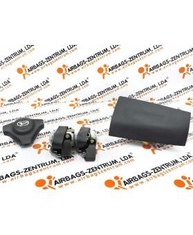 Kit de Airbags - Daihatsu Terios 2006 -