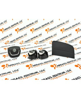 Kit Airbags - Skoda Fabia 2010 - 2015