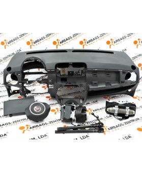 Airbags Kit - Fiat 500 2007 - 2015