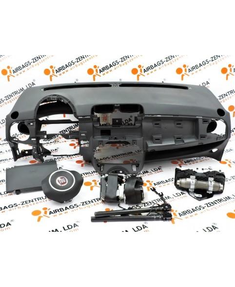 Airbags Kit - Fiat 500 2007 - 2015