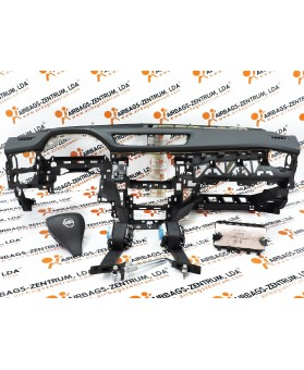 Kit de Airbags - Nissan X-Trail 2013 -