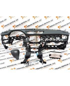 Kit Airbags - Nissan Qashqai 2013 -