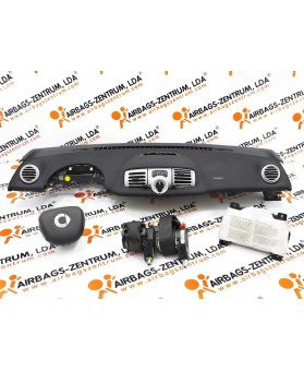 Airbags Kit - Smart Fortwo 2010-2014
