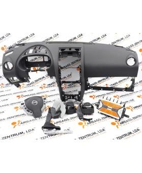 Kit de Airbags - Nissan Qashqai 2006 - 2013