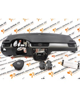Kit de Airbags - Skoda Rapid 2012 -