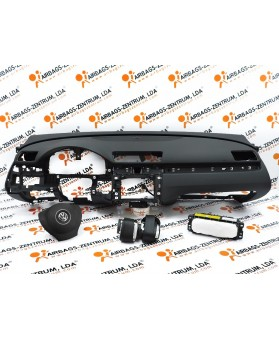 Airbags Kit - Volkswagen Passat 2010 - 2014