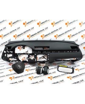 Kit de Airbags - Volkswagen Passat 2005-2014