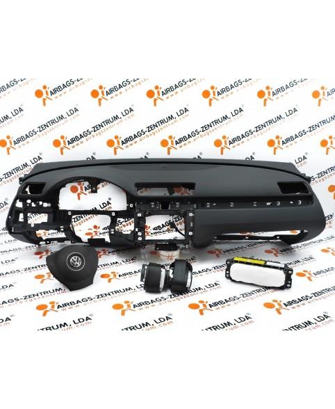 Kit de Airbags - Volkswagen Passat 2010 - 2014