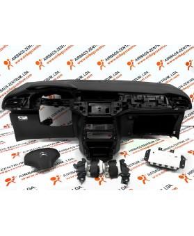 Airbags Kit - Citroen C3 2009 - 2016