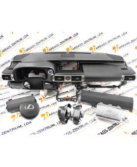Kit Airbags - Lexus IS 2013 - 2017