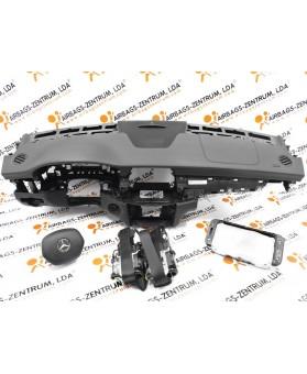 Kit de Airbags - Mercedes CLS (W218) 2010 - 2014