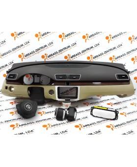 Kit Airbags - Volkswagen Passat CC 2008 - 2014