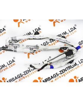 Airbags de Cortina - Mercedes Classe A 2012-