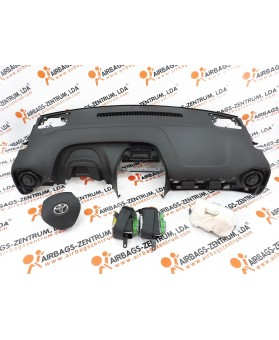 Airbags Kit - Toyota AYGO 2014-