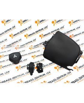 Airbag Kit - Mitsubishi Colt 2008-