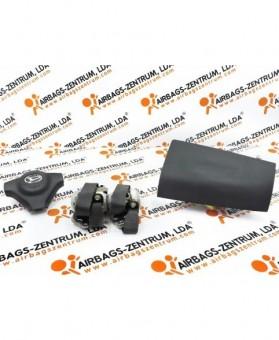 Airbags Kit - Daihatsu Terios 2006 -