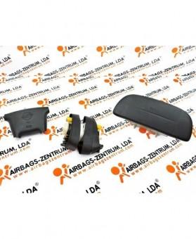 Airbags Kit - Ssangyong Korando 1996 - 2006