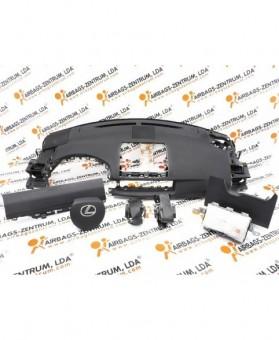 Airbags Kit - Lexus CT200H 2011-