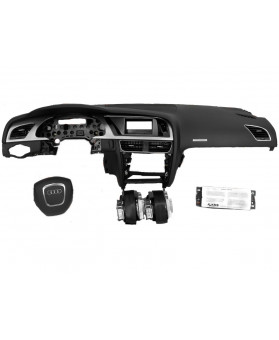 Airbags Kit - Audi A5 Cabriolet 2009 - 2012